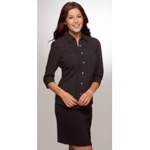 City Collection Ladies City Spot 3/4 Sleeve